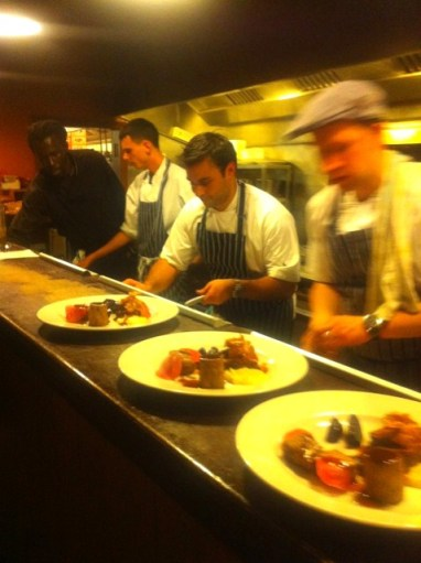 Dhruv & Lee plating up the Lamb