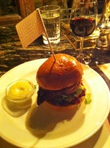 Three bird burger#